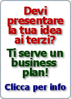 Devi presentare la tua business idea?